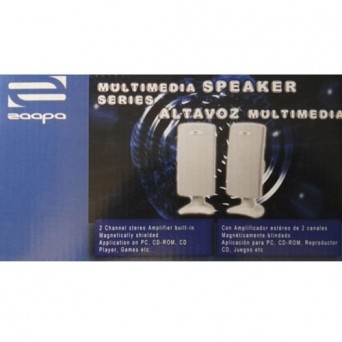 Altavoz Multimedia Silver