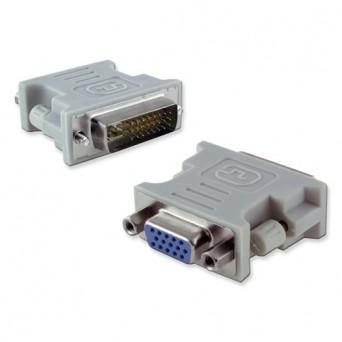 Adaptador VGA H a DVI M