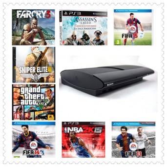 Sony PS3 + 9 Juegos