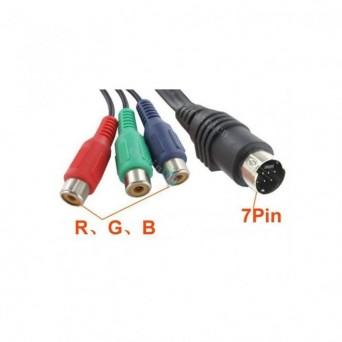 Cable S-Videdo a 3 RCA