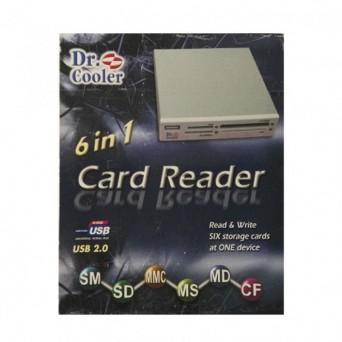 """Card Reader 6 en 1 3,5"""""""