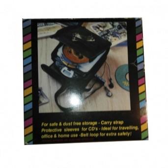 Porta CD con funda