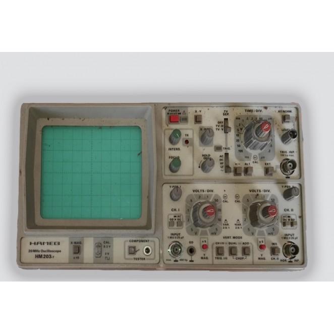 Osciloscopio HAMEG HM 203-7