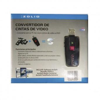 Conv. Cinta Video USB