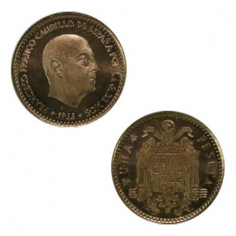 1 Peseta 1966 *19-75