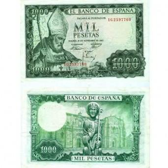 Billete 1000 Pesetas 1965