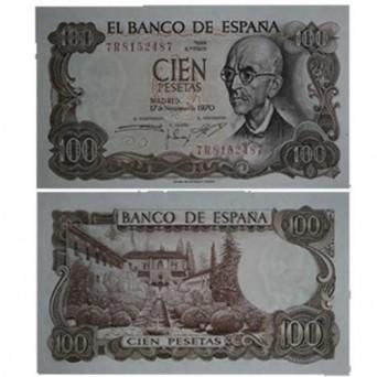 Billete 100 Pesetas 1970