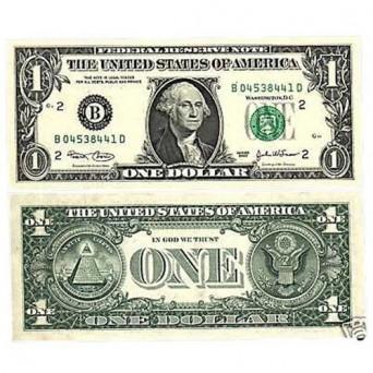 Billete 1 Dólar 2003
