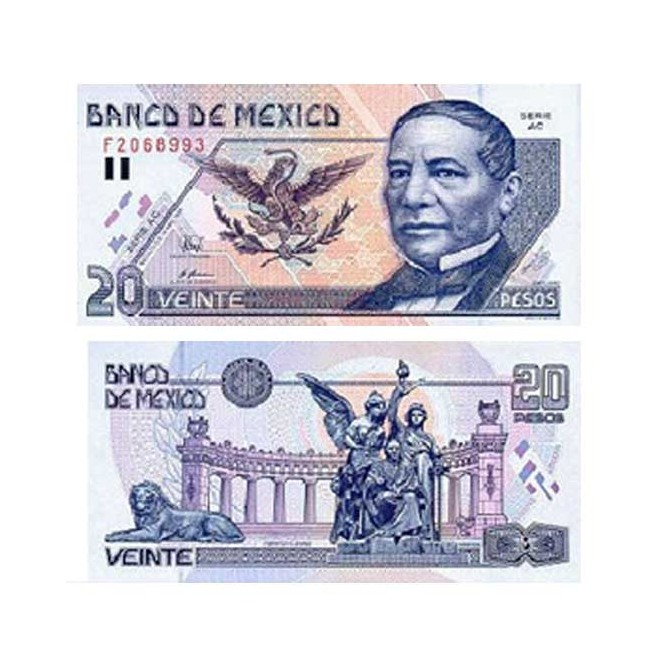 Billete 20 Pesos 2002