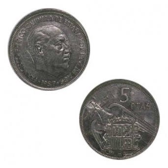 5 Pesetas 1957 *75
